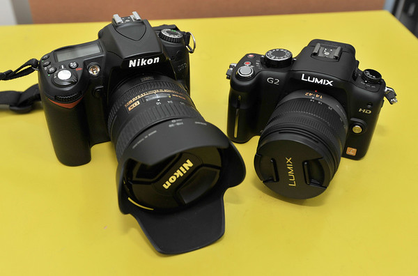 Compared with Nikon D90